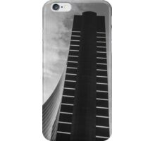Black and white hotel iPhone Case/Skin