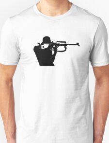 Biathlon shooting Unisex T-Shirt