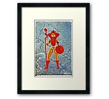 Warrior Goddess! Framed Print