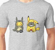 Totoro & Pickachu  Unisex T-Shirt