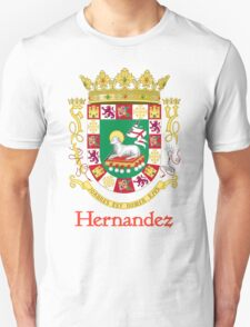Hernandez Shield of Puerto Rico T-Shirt