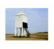Lighthouse at Burnham-on-Sea Art Print