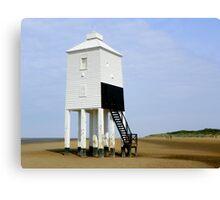 Lighthouse at Burnham-on-Sea Canvas Print