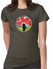 Ash Against The World Womens Fitted T-Shirt