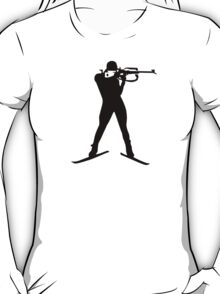 Biathlon winter sports T-Shirt