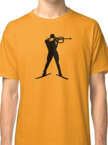 Biathlon winter sports Classic T-Shirt