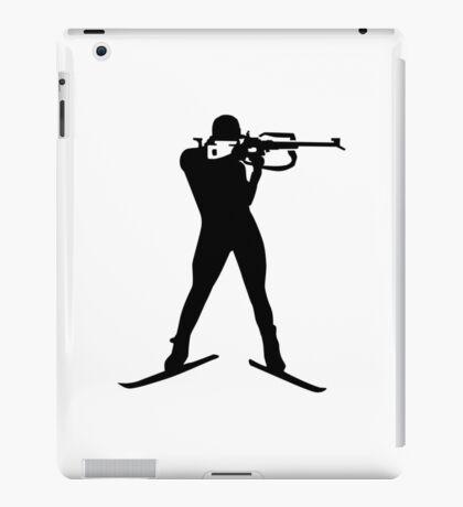 Biathlon winter sports iPad Case/Skin