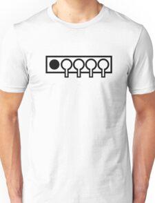 Biathlon shooting target Unisex T-Shirt