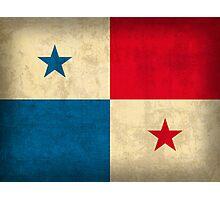 Panama Flag Photographic Print
