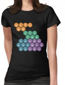 Better Living Through Chemistry Womens Fitted T-Shirt