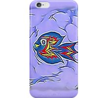 Flying Blue Fish iPhone Case/Skin