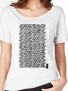 LINE : Multi-Exposure Bird Women's Relaxed Fit T-Shirt