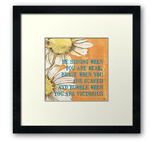 Dictionary Floral 2 Framed Print