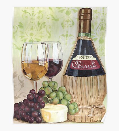 Chianti and Friends Poster
