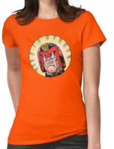 Dredd Womens Fitted T-Shirt
