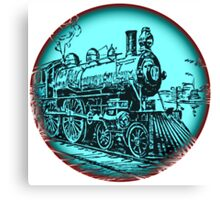 train round Canvas Print