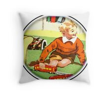 Play time - Trains Throw Pillow