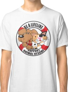 Be A LifeLine Rescue A Shelter Animal Classic T-Shirt