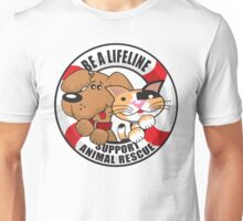 Be A LifeLine Rescue A Shelter Animal Unisex T-Shirt