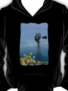 Wind Pump American Style Windmill T-Shirt