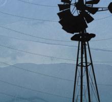 Wind Pump American Style Windmill Sticker