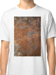 Stone rock grunge texture Classic T-Shirt