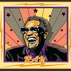 Ray Charles by Larry Butterworth