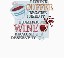 Coffee and Wine Unisex T-Shirt