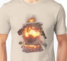 The SEGA Dreamcast Explodes Unisex T-Shirt