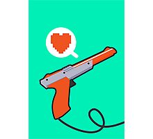 I HEART NES ZAPPER Photographic Print