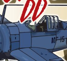 F2A The Buffalo Sticker