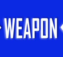 Weapon X Sticker