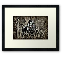 The Invasion Begins With Patient 0 Framed Print