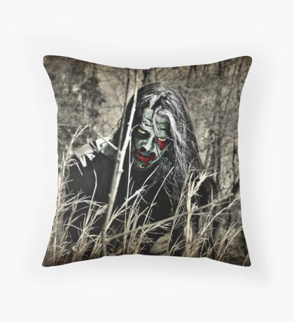The Invasion Begins With Patient 0 Throw Pillow