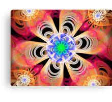 centrefugal julian flower Canvas Print