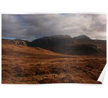 Derryveagh Mountains Poster
