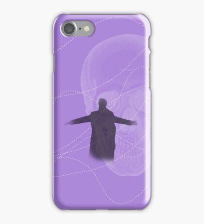 Prepared to burn (purple) iPhone Case/Skin