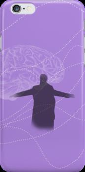 Prepared to burn (purple w/ brain) by skyekathryn