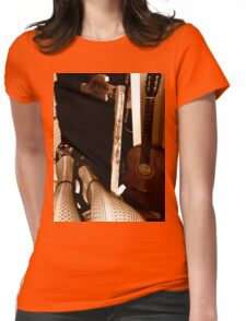 Sultry Blues Womens Fitted T-Shirt