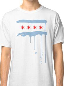 Chicago Flagraffiti - White Classic T-Shirt