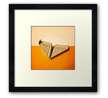 Paper Airplanes of Wood 8 Framed Print