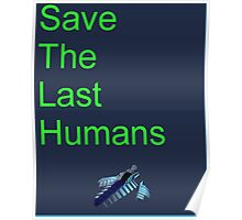 Resogun Save the Last Humans Poster