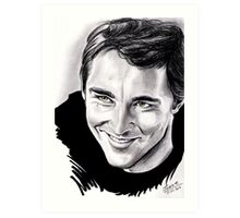 Lee Pace, Ned the pie-maker Art Print