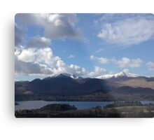Looking over Keswick Metal Print