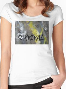 Survival Women's Fitted Scoop T-Shirt