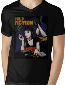 Pulp Fiction Mens V-Neck T-Shirt
