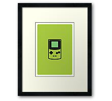 GAMEBOY COLOR Framed Print