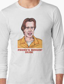 Phone's Ringin' Dude (Color) Long Sleeve T-Shirt