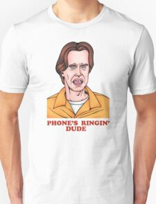 Phone's Ringin' Dude (Color) Unisex T-Shirt