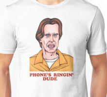 Phone's Ringin' Dude (Color) Unisex T-Shirt